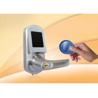 China RFID Card Door Lock With Mobile phone, Card, Mechanical key, support NFC for option wholesale