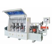 China High Efficiency Woodworking Edge Banding Machine With PLC Touch Screen on sale