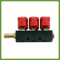 Buy cheap CNG LPG gas Injector Rail for 6 cylinder Sequential Injection System Common Rail product