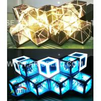 Buy cheap Creative LED Displays Led Stage Screen-DJ screen/LED DJ booths/ LED Diamond-P4-3.786 product