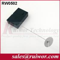Buy cheap Interactive Experience Retractable Security Tether With Adhesive ABS Plate product