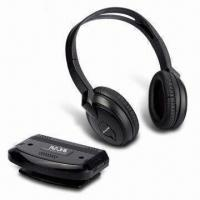 China FM Wireless Headphones with Stereo Audio Mode and 100m Effective Range, VHF/RF System on sale