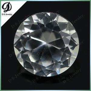 Buy cheap диамант горячей продажи 2015 дешевый оптовый отрезал цену корунда синтетической драгоценной камня белую product