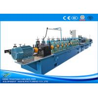 Buy cheap Decoration Use Stainless Steel Tube Making MachineWelding Speed 15m / Min Pipe Dia 64mm product