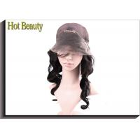 China With Baby Hair Around Lace Wig Suitable Dying All Colors 1b# Natural Wave wholesale