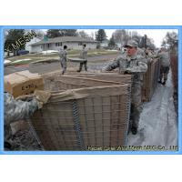 Buy cheap Hesco Barrier Welded Gabion Baskets Zinc Aluminum Alloy Coated For Military Bastion product