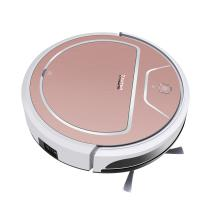 Buy cheap Wet Dry Intelligent Robot Vacuum Cleaner , Auto Floor Cleaner Robot Lightweight product