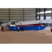 Buy cheap 90KW 4000M2/H Aquatic Weed Harvesting Equipment With Storage Tipper Body product