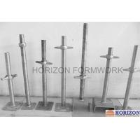 Buy cheap Threaded Screw Jack Base and U-Head dia 38mm for Adjusting Scaffolding Height product