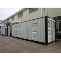 Buy cheap Water Cooled 800 KW Container Diesel Generator 1100KVA With Mute Type Casing product