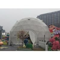 Buy cheap Diameter 6m Geodesic Dome Tent For Party with Q235 Hot Galvanized Steel Tube product