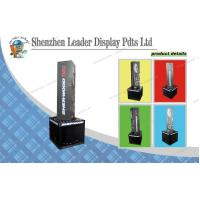 China  Hockey Sticks Black Cardboard POS Display Stands Recycled with Customized Logo  for sale