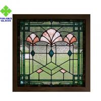 Buy cheap Textured Surface Stained Glass Decorative Panels With 70 Different Colors product