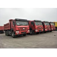 Buy cheap RED Color 371HP 10 Wheeler Dump Truck SINOTRUK HOWO With 12.00R20 Tire product
