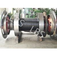 Buy cheap Offshore Windlass Winches / Drawworks Drum For Petroleum Drilling Rig product