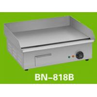 Buy cheap 220V 3KW Safety Cooking Stainless Steel Flat Top Grill For Home Kitchen / Restaurant from wholesalers