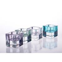 Buy cheap Square Tealight Candle Holder Glass Replacement For Decoration product
