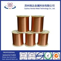 China Copper Clad Aluminum Enameled Wire for Voice Coils, UEW/PEW SWG22~41 on sale