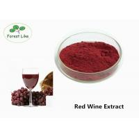 Buy cheap Natural Antioxidant Red Wine Anthocyanin Extract Powder 30% Polyphenols Healthcare product