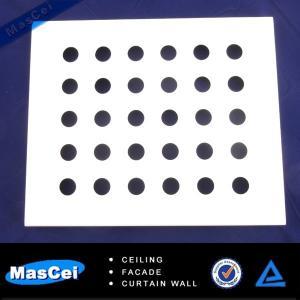 Buy cheap Glazed Aluminum Curtain Wall and 1mmHoleGalvanizedPerforatedMetalMesh product