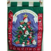 China Sewn Stuff E4026 - Xmas Countdown wholesale