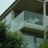 Buy cheap Safety Frameless Toughened Glass Railing withStainless Steel Standoff from wholesalers
