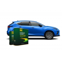 China Forest Bright Blue 1K Basecoat Pearlescent Car Paint on sale