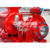 Buy cheap 45.4m³ / h @ 135~140PSI UL Certificated Fire fighting Pump Group With Electric Motor Driven Fire Water Pump product