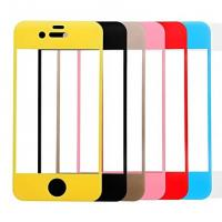 Buy cheap For Iphone 6/6 Plus Colored Tempered Glass Screen Protector Full Cover ,OEM/ODM,Wholesale product