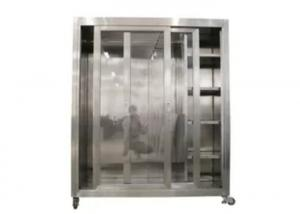 Buy cheap Static 1500*750*1800mm Garment Cubicle Assembly / Clean Room Dress Cabinet product