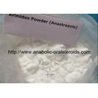 Buy cheap Oral Arimidex ( Anastrozole ) 120511-73-1 Anti-Estrogen Steroids To Treat Breast Cancer product