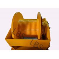 Buy cheap Hydraulic Brake Hoist Winch 140KN With Lebus Grooving For Offshore Ship / Construction Lifting product