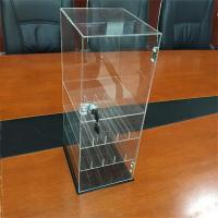 Buy cheap counter top 4 tiers clear acrylic e-liquid display OEM and ODM product