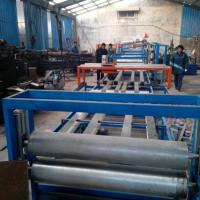 Buy cheap EPS Sandwich Wall Panel Forming Machine Fireproof Mgo Wall Board Making Machine product