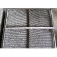Buy cheap Durable 304 Stainless Steel Wire Mesh Demister Pad With Custom Shapes product