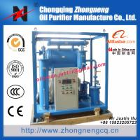 Insulating oil reclamation plant /single stage vacum transformer oil purification machine / oil dehydration plant ZY-50