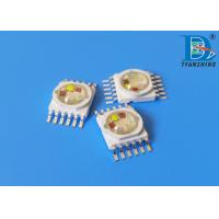 Buy cheap 10W RGBWAUV LED Diode , 6-IN-1 High Power Multicolor LED Chip product