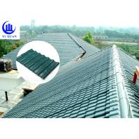 Quality Corrosive Resistance ASA Synthetic Resin Roof Tile Waterproof Plastics for sale