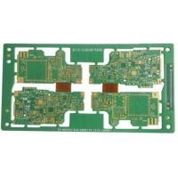 Buy cheap 10 Layers Rigid Flex PCB For Car Audio Immersion Gold 1.32mm Thickness product