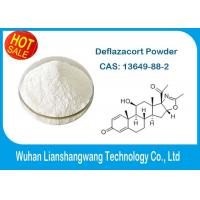 China Glucocorticoid Pharmacy Powder Local Anesthetic Drugs Deflazacort for Anti Inflammatory , 14484-47-0 wholesale