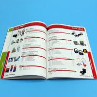 Buy cheap High Quality Professional Catalogue Printing Service 105gsm / 128gsm / 157gsm product