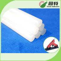 Buy cheap EVA resin  Based White and semi-transparent  Solid Hot Melt Industrial Glue Sticks Light White Semi Transparent product