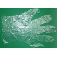 Buy cheap Transparent Disposable Polyethylene Gloves , PE Gloves Embossed / Smooth Surface product