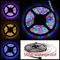 Buy cheap 5M RGB LED Strip Light Non Waterproof SMD 5050 IP65 300 Leds LED Tape product