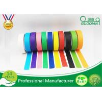"""Buy cheap 3/4"""", 1"""", 1.5"""", And 2"""" Widths Black Crepe Masking Tape For Automotive / Window product"""
