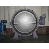 China DN2200 Double Offset Butterfly Valve / Threaded Victaulic Butterfly Valve on sale