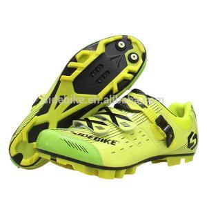 China Customized Moistureproof MTB Cycling Shoes , Lightweight Mountain Bike Shoes on sale