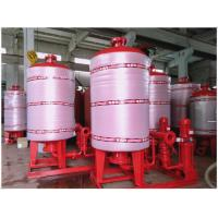 Buy cheap Stainless Steel 304 / 316 Diaphragm Water System Pressure Tank With Polishing Treatment product