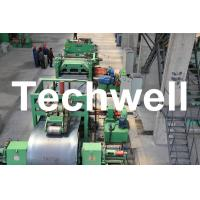 Buy cheap Metal Cutting / Steel Metal Cut To Length Machine Line With Uncoiler Leveling Cutting product