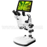 Buy cheap WF10X - 20mm Electron Digital LCD Microscope LED Illumination Microscope A36.0902 + A59.3503 product